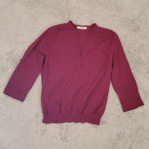 Fuscia blouse